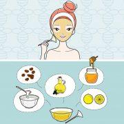 Gesichtsmaske mit Manuka Honig Pflege Feuchtigkeit DIY