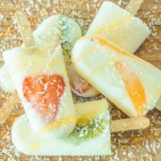 popsicles joghurt honig frombee eis am stiel obst frucht
