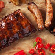 honig marinade grillen chilli sauce herzhaft fleisch gericht
