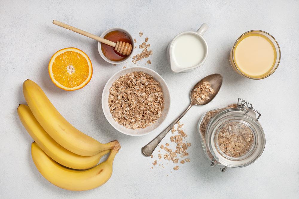 overnight oats honig banane do it yourself healthy frühstück