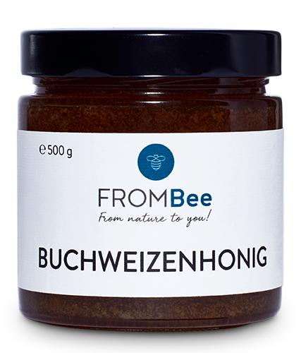 Frombee Buchweizenhonig, 500 gramm, cremig