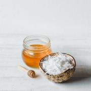 Frombee, Honig, Kokosnuss, Kokosöl, Haarkur, Haarpflege, Do it yourself, DIY, Feuchtigkeitspflege, Feuchtigkeitskur