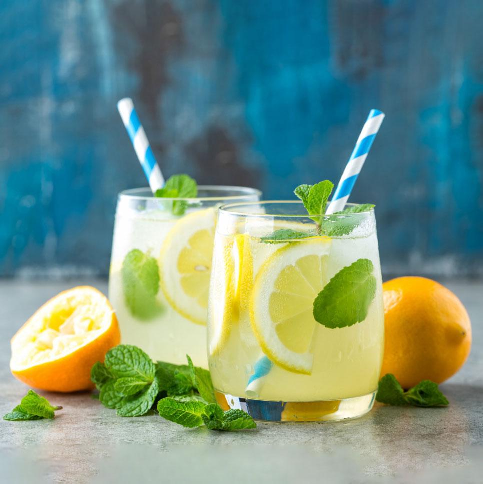 Erfrischende Limonade mit Honig Rezept