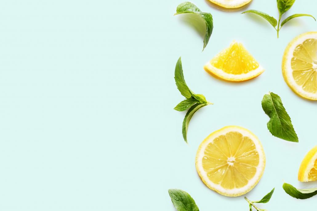 Zitronen Limonade Sommer Honig
