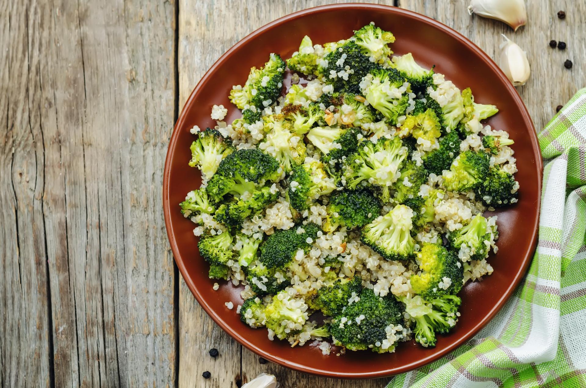 Quinoa Brokkoli Rezept